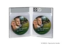 Boîtier de 12 DVD en pochettes pour solutionner le risque de fissures ou de casse des DVD