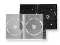 Boîtiers DVD pour le prêt en bibliothèques.
