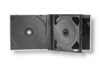 Boîtier cristal multipack pour 4 CD