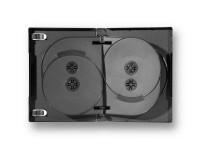 Boitier 5 DVD pour bibliothèques