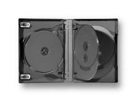 Boitier 7 DVD pour bibliothèques