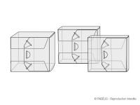 7 modèles d'étuis pour plusieurs boîtiers CD ou pochettes XL avec livret opéra