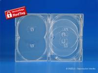 Boitier verrouillable antivol, Amaray pour 6 DVD, épaisseur 14 mm