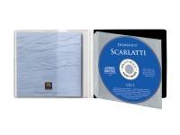 """fabextra S 1 à 6 CD - Modèle pour 1 CD """"gain de place"""" pour bibliothèques-discothèques"""