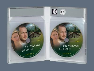 boitier dvd 12 disques