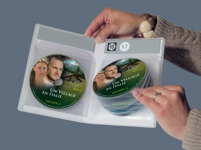 boitier dvd 12 dvd