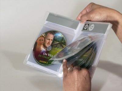 boitier dvd bibliothèque