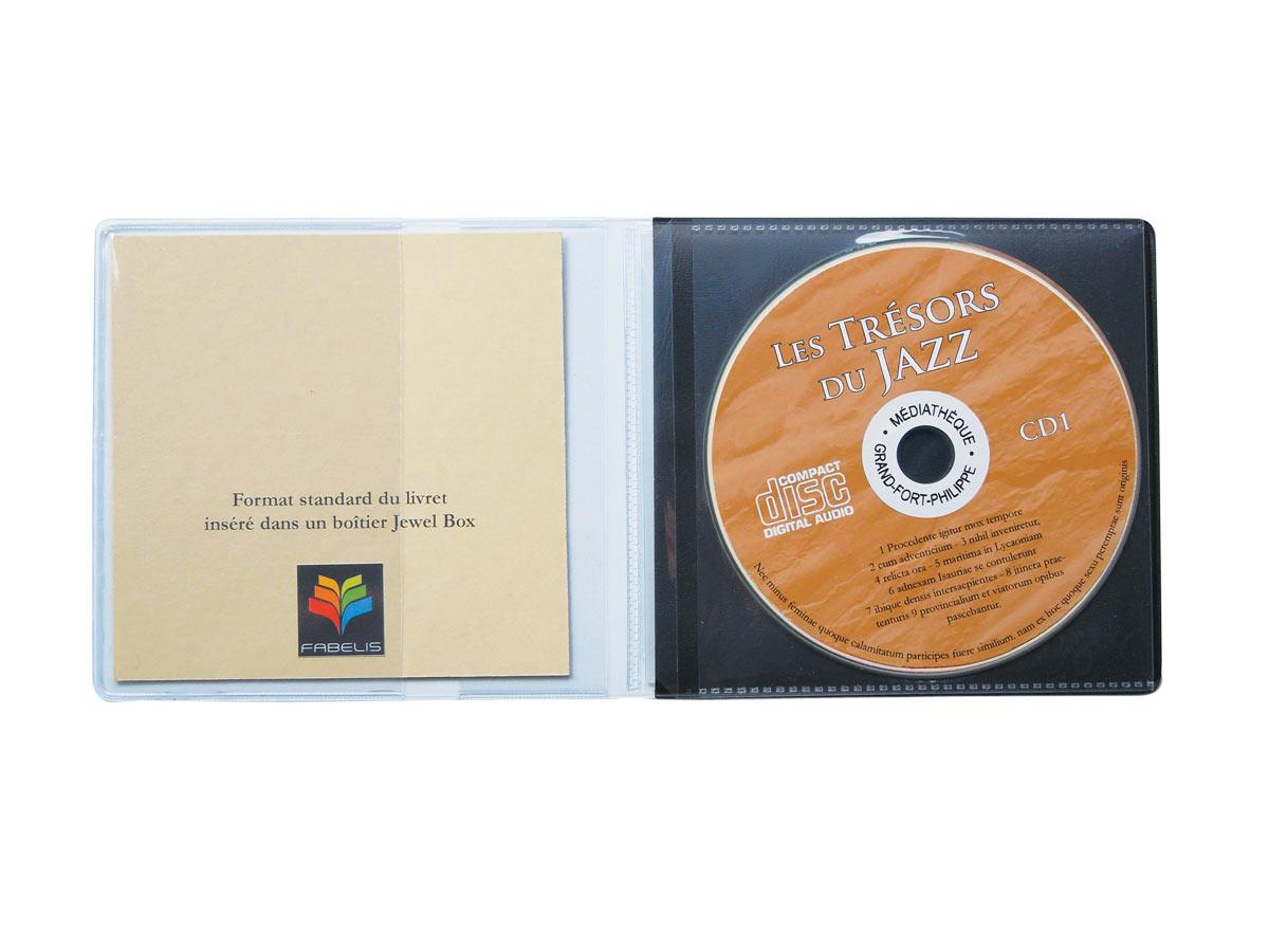 Pochettes CD fabextra S 1 à 6 CD - La pochette CD qui vous fait gagner de la place !