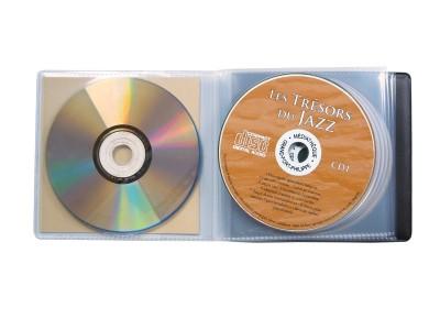 pochette multi cd musique