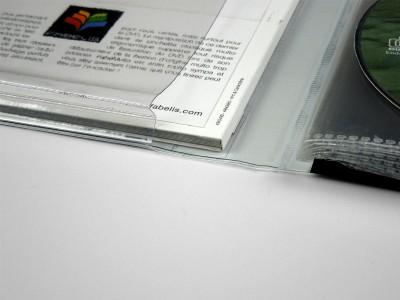 pochette soufflet cd