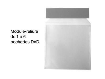 reliure pochettes boitier dvd 2