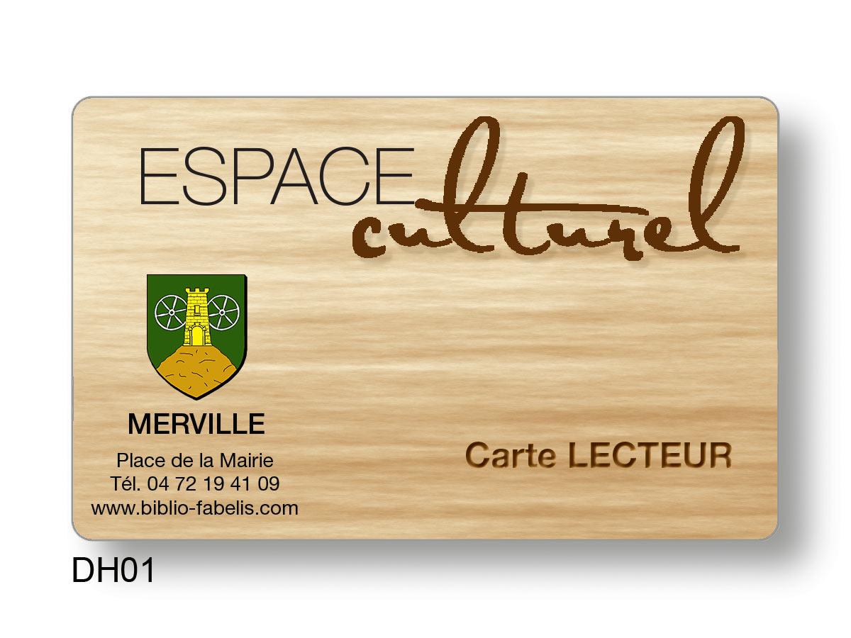 Carte d'accès espace culturel