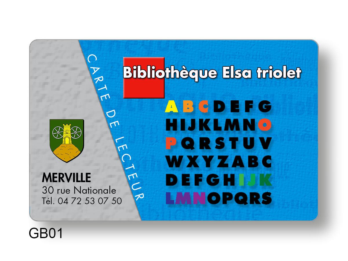 Badge - contrôle d'accès en bibliothèque - cartes lecteur
