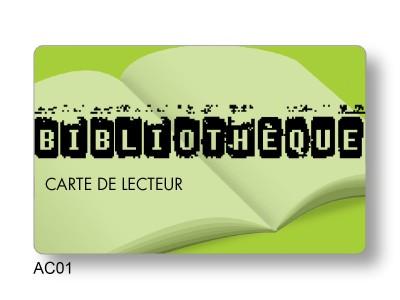 fournisseur Carte lecteur bibliothèque