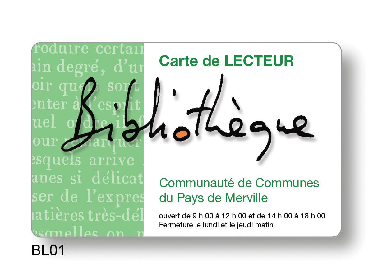 Pass pour bibliothèque communauté de communes