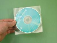 Plasto, pochette fine de protection pour CD