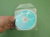 Pochettes de protection pour 1 CD avec rabat, PP120 µ