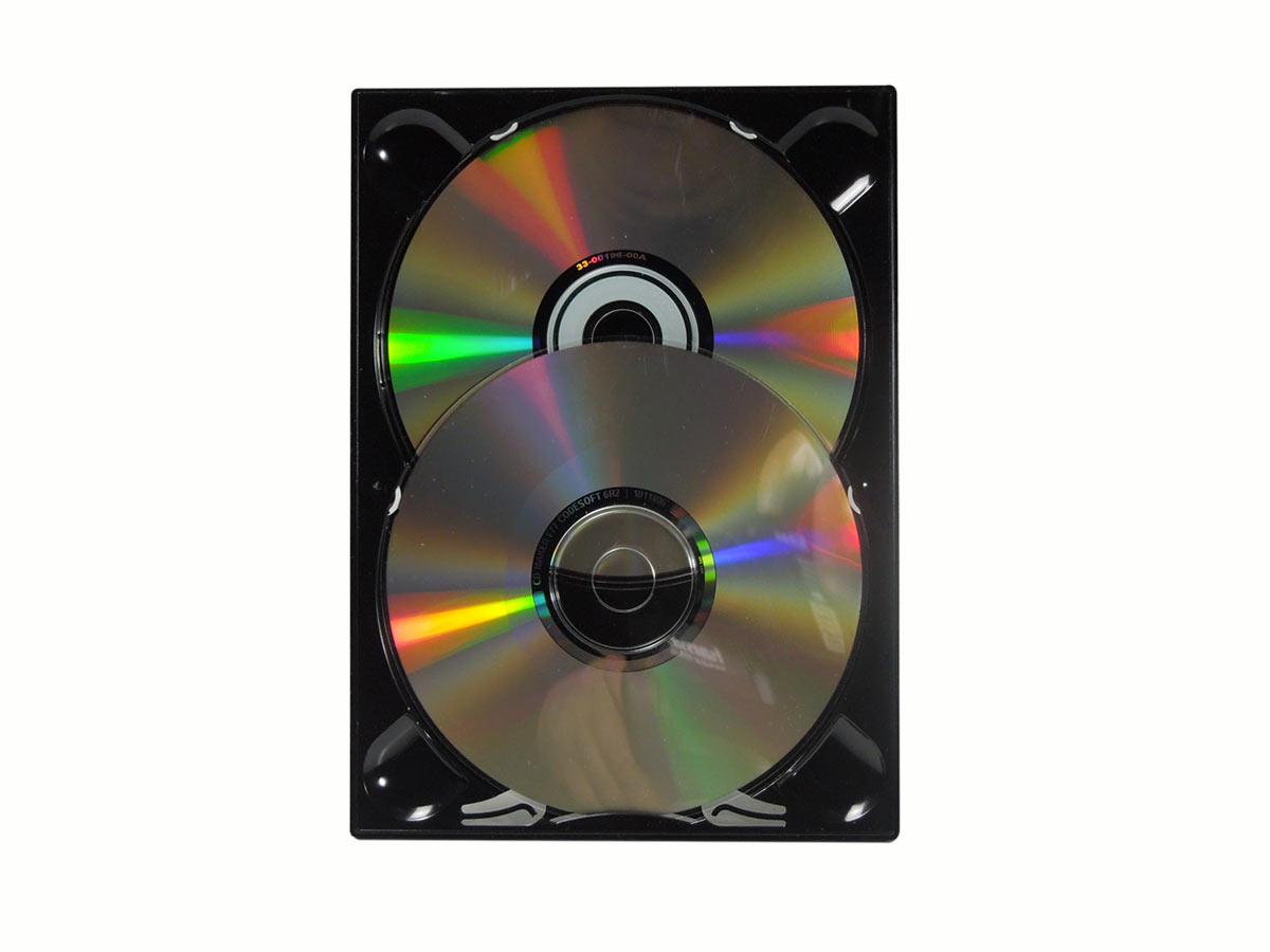 Digitray pour 2 DVD