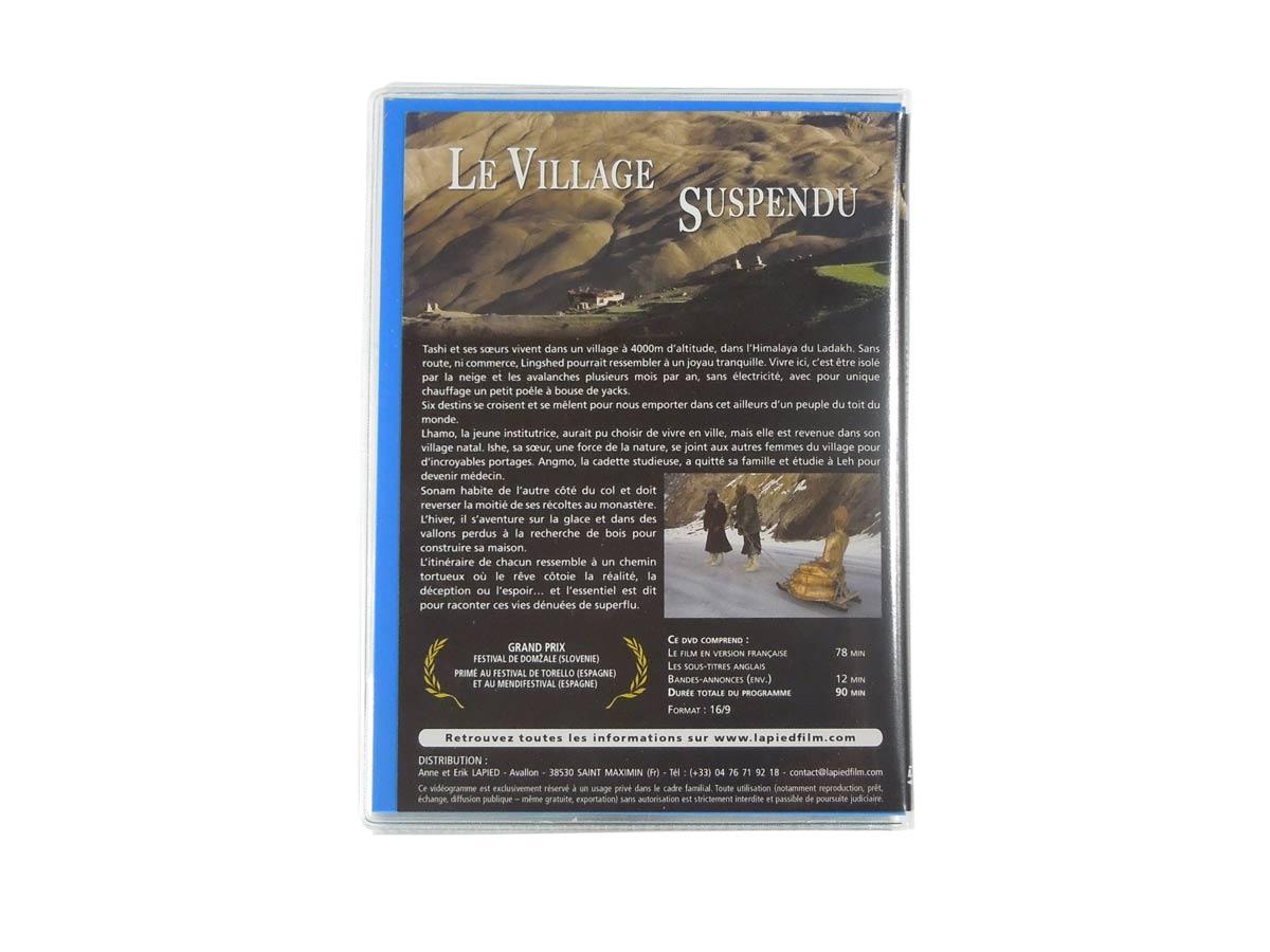 Etui à pochettes pour dvd. Page 4 de couverture