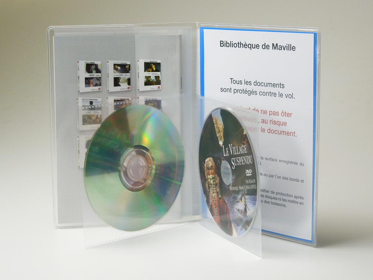 Pochette pour 2 DVD