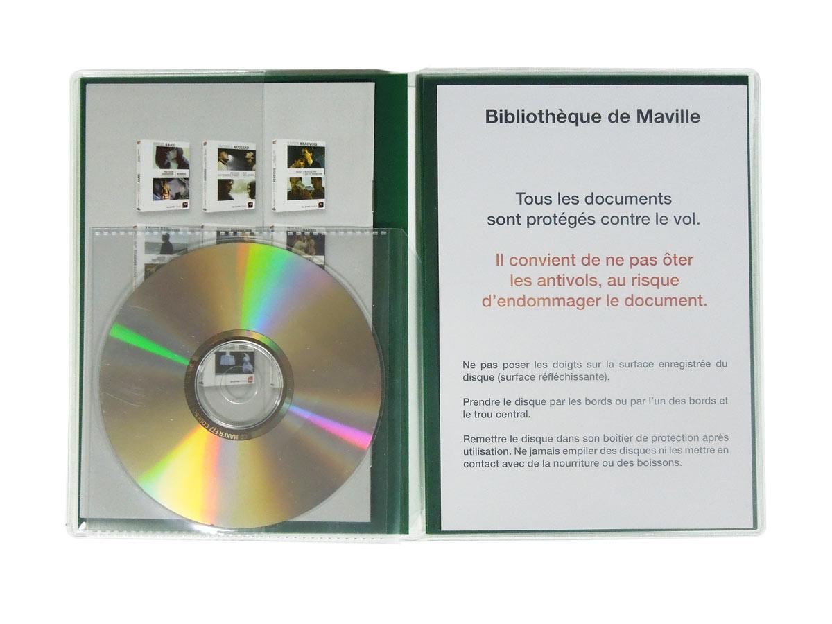 pochette DVD pour videothèque