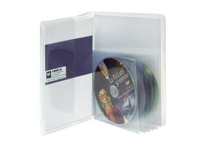 pochette pour 6 DVD